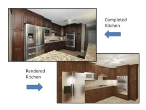 Kitchen and Rendering